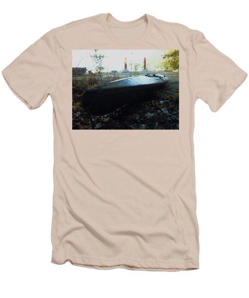 Kayak Men's T-Shirt (Athletic Fit)
