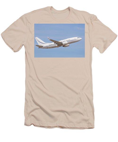 Kazakhstan Government Boeing 737 Men's T-Shirt (Athletic Fit)