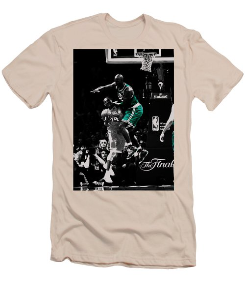 Kevin Garnett Not In Here Men's T-Shirt (Slim Fit) by Brian Reaves