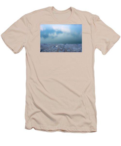 Key On The Lake Shore Men's T-Shirt (Athletic Fit)