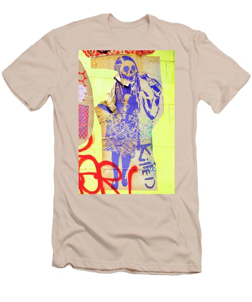 Men's T-Shirt (Slim Fit) featuring the photograph Killed by Art Block Collections