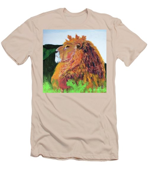 King Of Hearts Men's T-Shirt (Slim Fit) by Donald J Ryker III