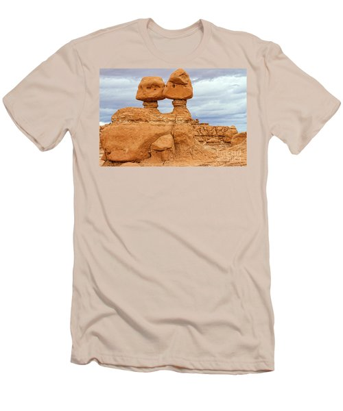 Kissing Rock Men's T-Shirt (Athletic Fit)