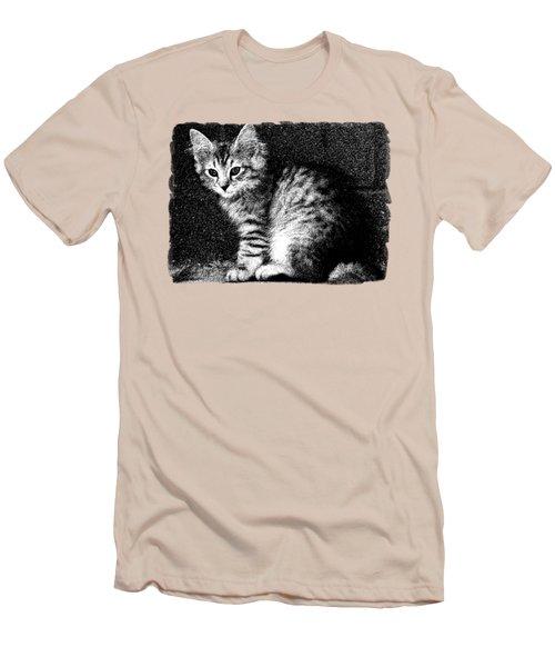 Kitten Cleo Men's T-Shirt (Athletic Fit)