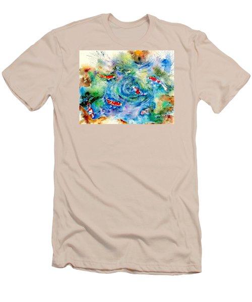 Koi Joy Men's T-Shirt (Athletic Fit)