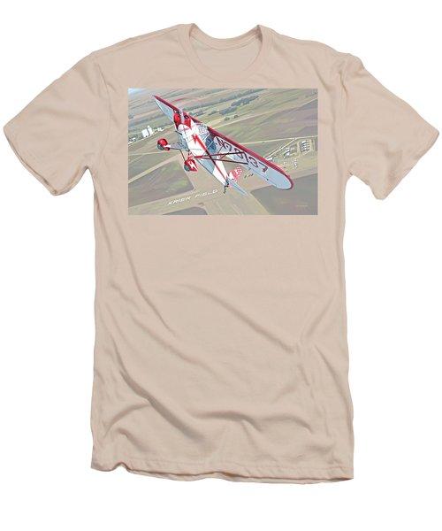 Krier Field Men's T-Shirt (Athletic Fit)