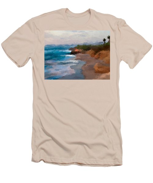 La Jolla California  Men's T-Shirt (Athletic Fit)