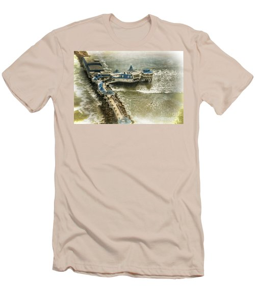 Men's T-Shirt (Slim Fit) featuring the photograph La Rosa Nautica - Peru by Mary Machare