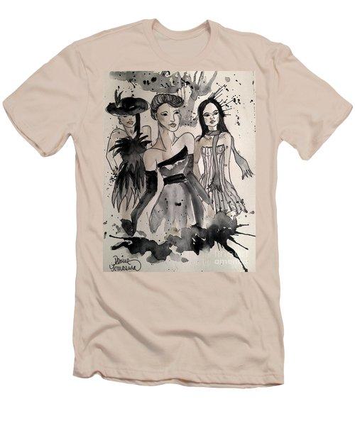 Ladies Galore Men's T-Shirt (Slim Fit) by Denise Tomasura