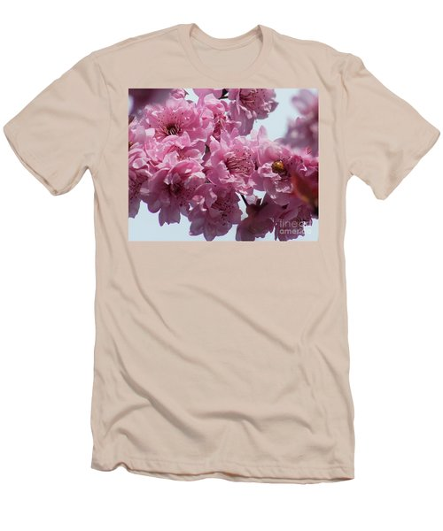 Men's T-Shirt (Slim Fit) featuring the photograph Lady Bug by Victor K