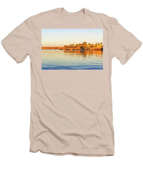 Lake Nasser In Abu Simbel Men's T-Shirt (Athletic Fit)