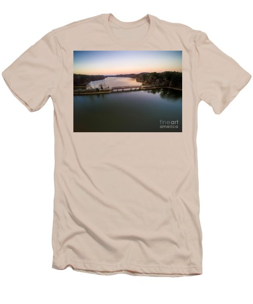 Lake Purdy At Grants Mill Men's T-Shirt (Athletic Fit)