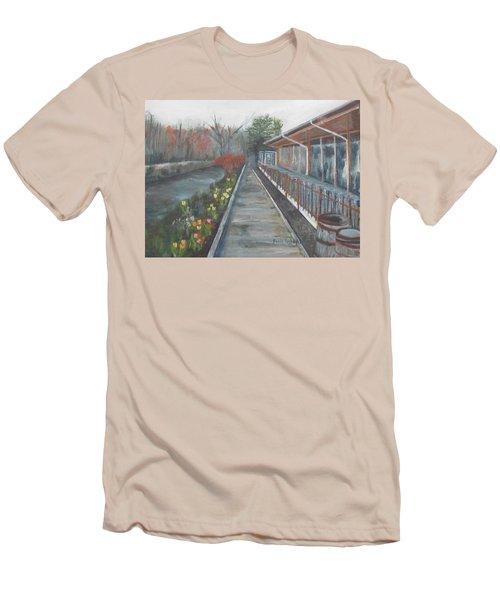 Lambertville Rr #1 Men's T-Shirt (Athletic Fit)