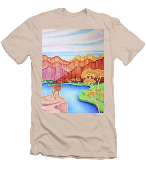 Land Of Enchantment Men's T-Shirt (Athletic Fit)