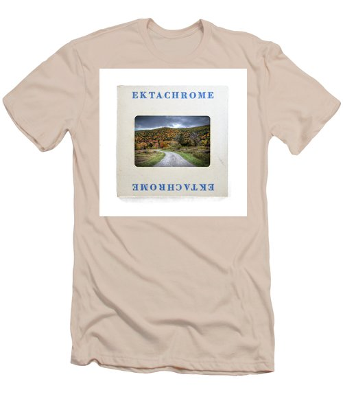 Landscape In Ektachrome Men's T-Shirt (Athletic Fit)