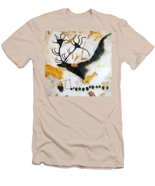Lascaux Megaceros Deer Men's T-Shirt (Athletic Fit)