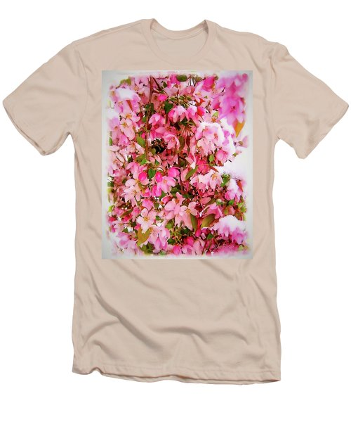 Late Snow Early Flowers Men's T-Shirt (Athletic Fit)