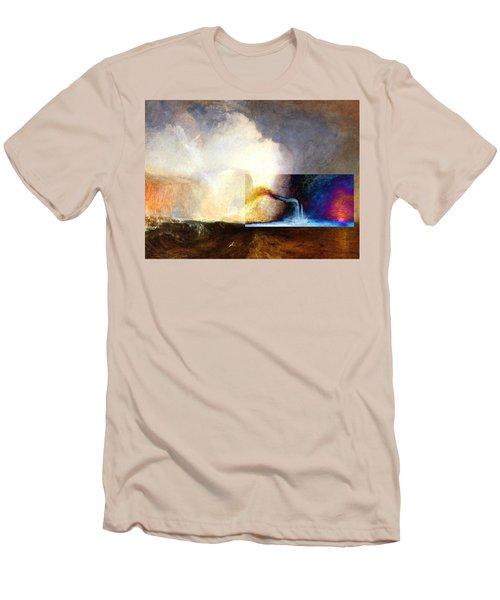 Layered 1 Turner Men's T-Shirt (Slim Fit) by David Bridburg