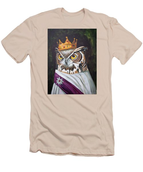 Le Royal Owl Men's T-Shirt (Slim Fit) by Nathan Rhoads