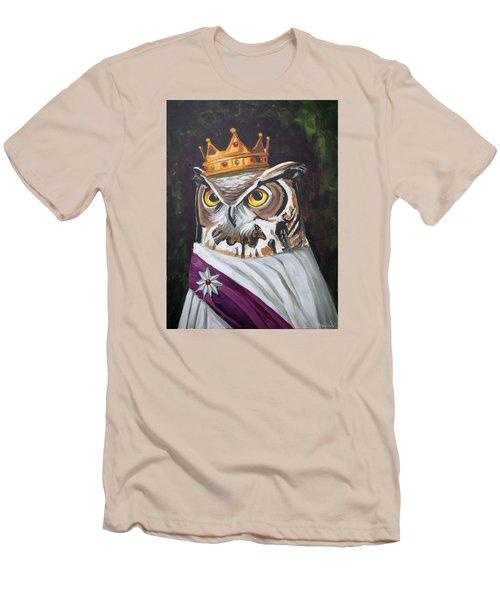 Le Royal Owl Men's T-Shirt (Athletic Fit)