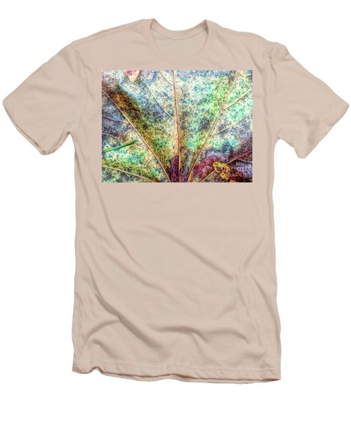 Leaf Terrain Men's T-Shirt (Athletic Fit)