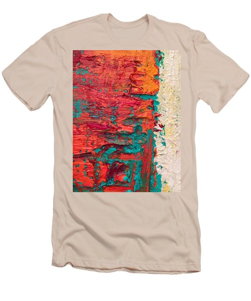 Learning Curve One Men's T-Shirt (Slim Fit) by Heather Roddy