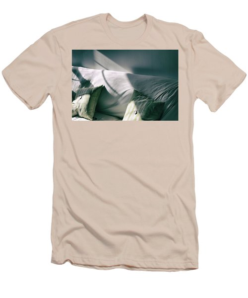 Men's T-Shirt (Slim Fit) featuring the photograph Leftover Light by Steven Huszar