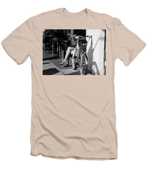 Leg Power - B And W Men's T-Shirt (Athletic Fit)