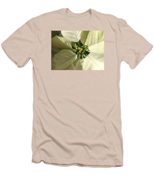 Legend Of The Poinsettia  Men's T-Shirt (Athletic Fit)