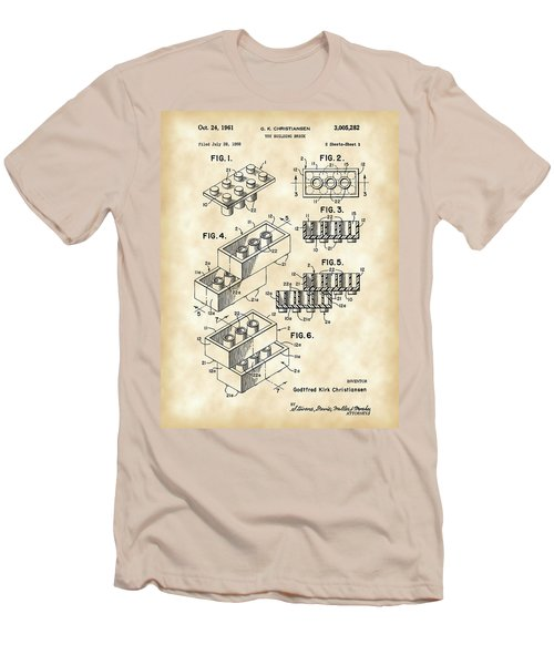 Lego Patent 1958 - Vintage Men's T-Shirt (Athletic Fit)