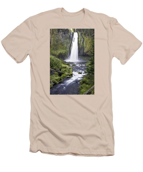 Lemolo Falls Men's T-Shirt (Athletic Fit)