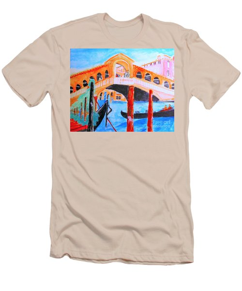 Leonardo Festival Of Venice Men's T-Shirt (Athletic Fit)