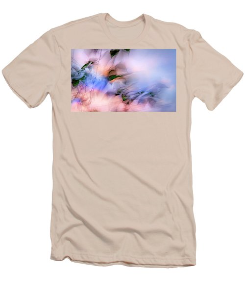 Men's T-Shirt (Slim Fit) featuring the photograph Let The Winds Of The Heavens Dance by Theresa Tahara