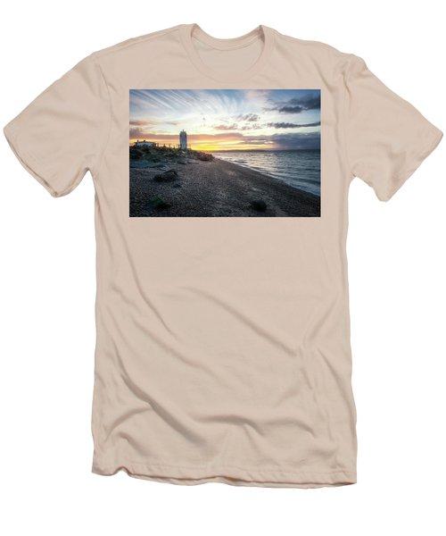 Light On Puget Sound Men's T-Shirt (Athletic Fit)