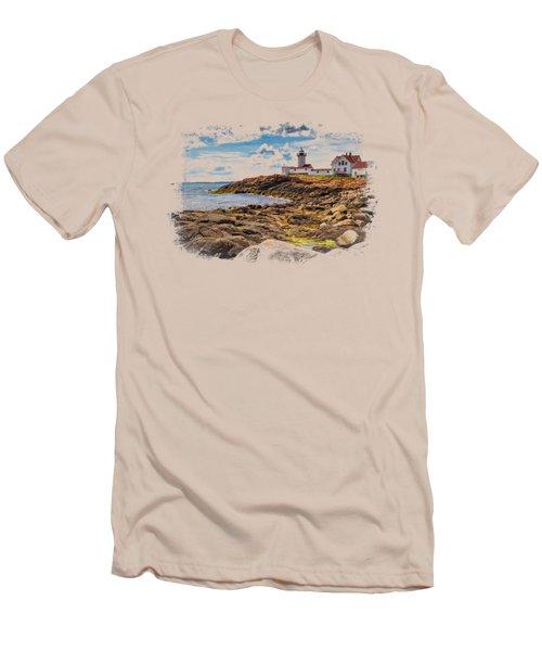 Light On The Sea Men's T-Shirt (Slim Fit) by John M Bailey