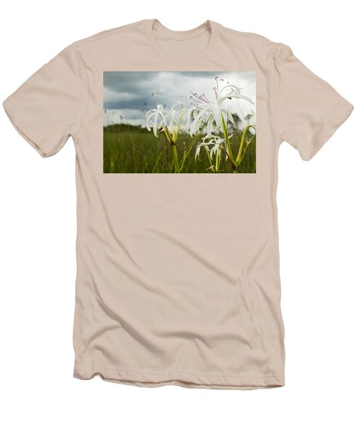 Lilies Thunder Men's T-Shirt (Athletic Fit)