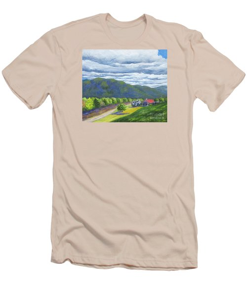 Lil's Place Men's T-Shirt (Slim Fit) by Anne Marie Brown