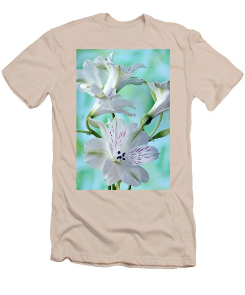 Lily Of The Incas Men's T-Shirt (Slim Fit) by Terence Davis