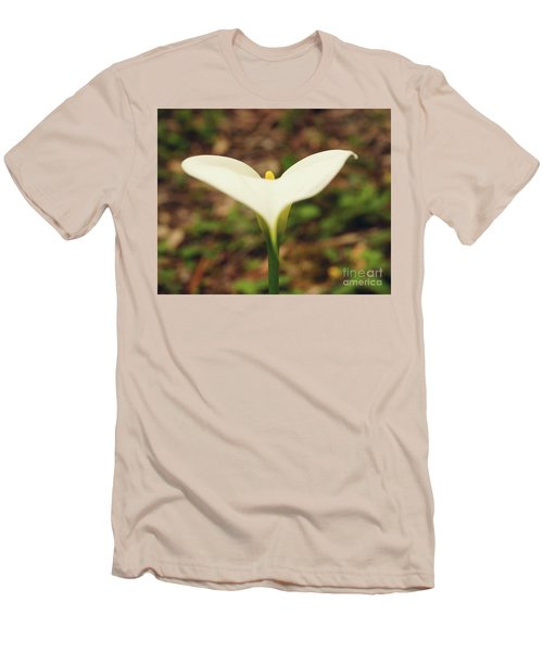 Lily Of The Valley Men's T-Shirt (Slim Fit) by Cassandra Buckley