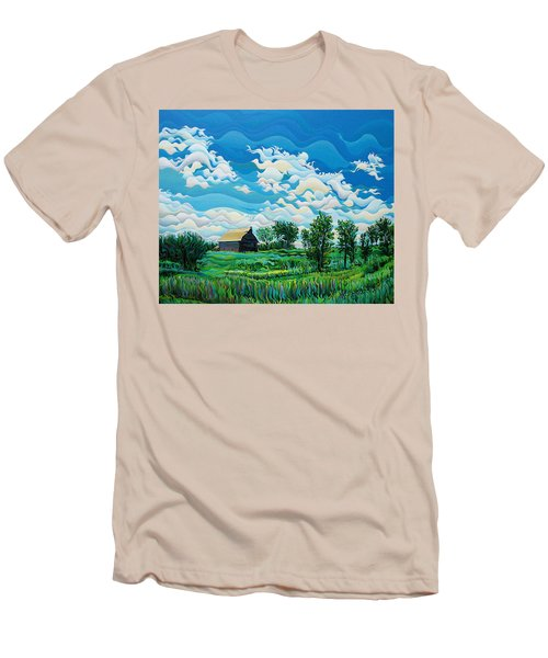 Limitless Afternoon Dreams Men's T-Shirt (Athletic Fit)