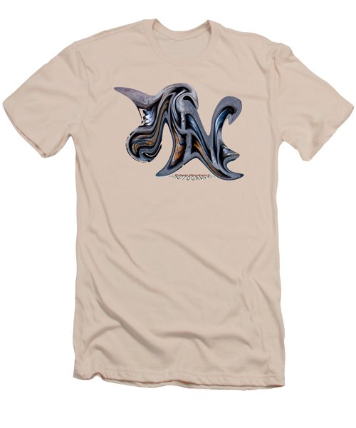 Liquid Rhino Transparency Men's T-Shirt (Athletic Fit)