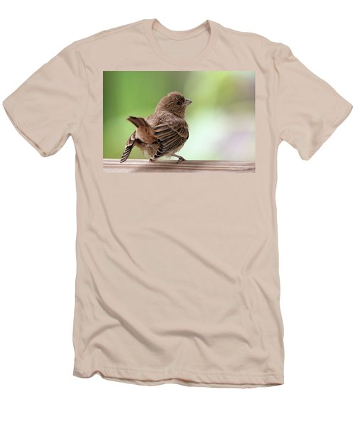 Men's T-Shirt (Athletic Fit) featuring the photograph Little Bird by Trina Ansel