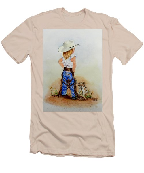 Little Miss Big Britches Men's T-Shirt (Athletic Fit)
