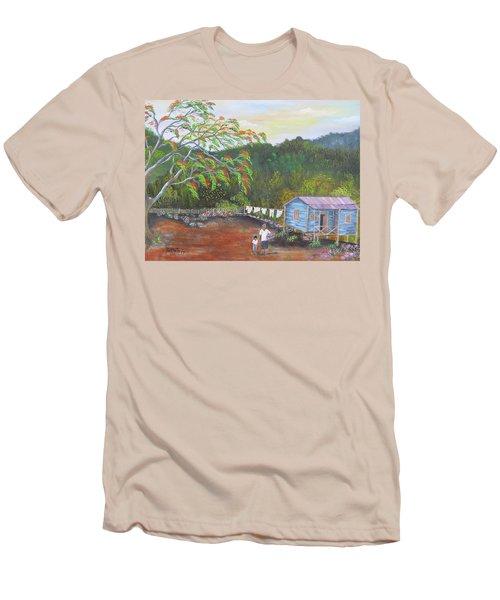 Little Paradise Men's T-Shirt (Athletic Fit)