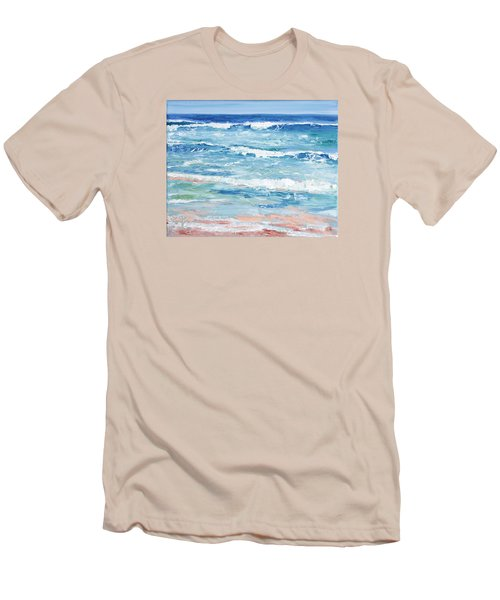 Little Riptides Men's T-Shirt (Slim Fit) by Trina Teele