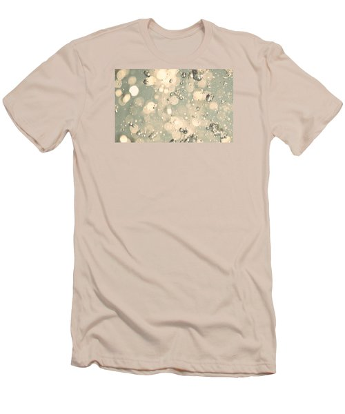 Men's T-Shirt (Slim Fit) featuring the photograph Living Water by The Art Of Marilyn Ridoutt-Greene