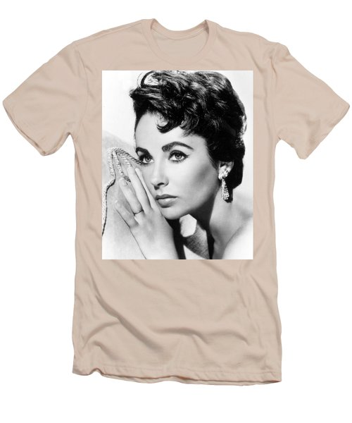 Liz Taylor Men's T-Shirt (Athletic Fit)