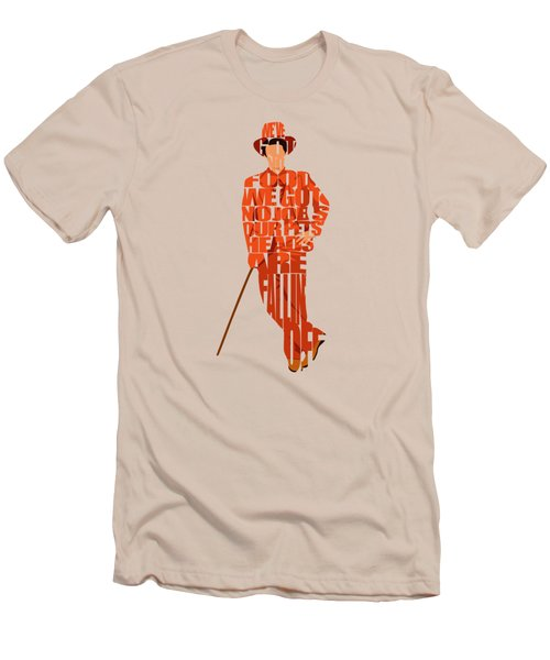 Lloyd Christmas Men's T-Shirt (Slim Fit) by Ayse Deniz