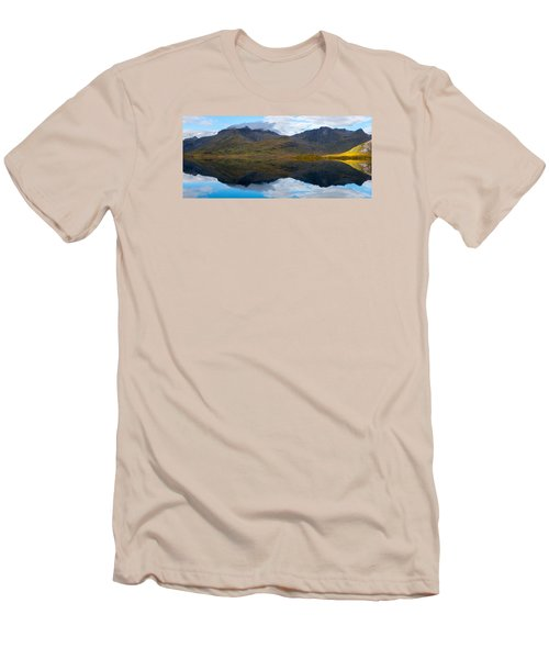 Lofoten Lake Men's T-Shirt (Athletic Fit)