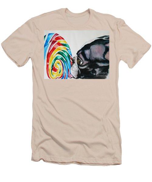 Lolli Pup Men's T-Shirt (Athletic Fit)